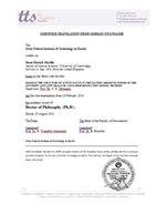 Diploma Translation