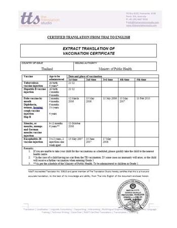 Medical Reports Translation